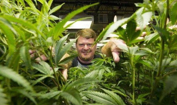 Floyd Landis nel suo negozio di cannabis in America