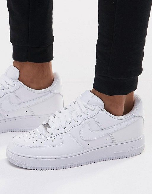promo code 0f8d4 90e26 Nike Air Force 1  07 Sneakers In White 315122-111