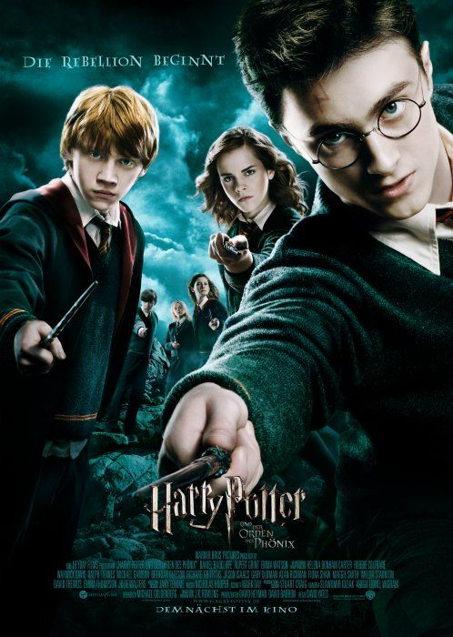 Poster zum Film: Harry Potter und der Orden des Phönix