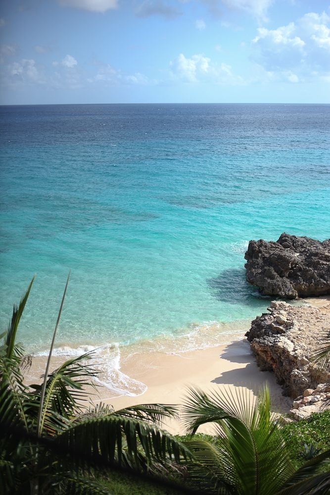 Anguilla beach, By Eileen Chiang
