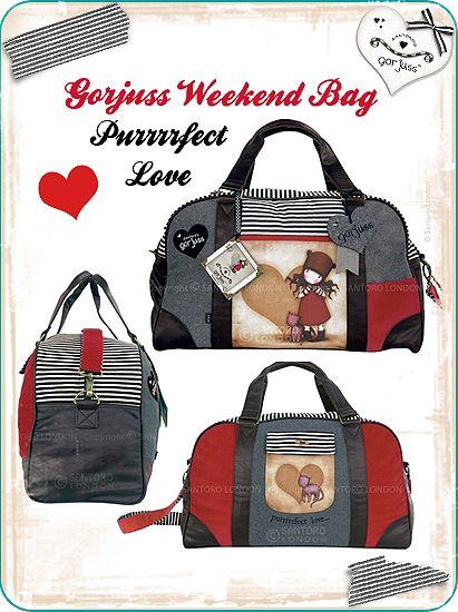 HUGE Gorjuss Weekend bag by gorjuss.deviantart.com