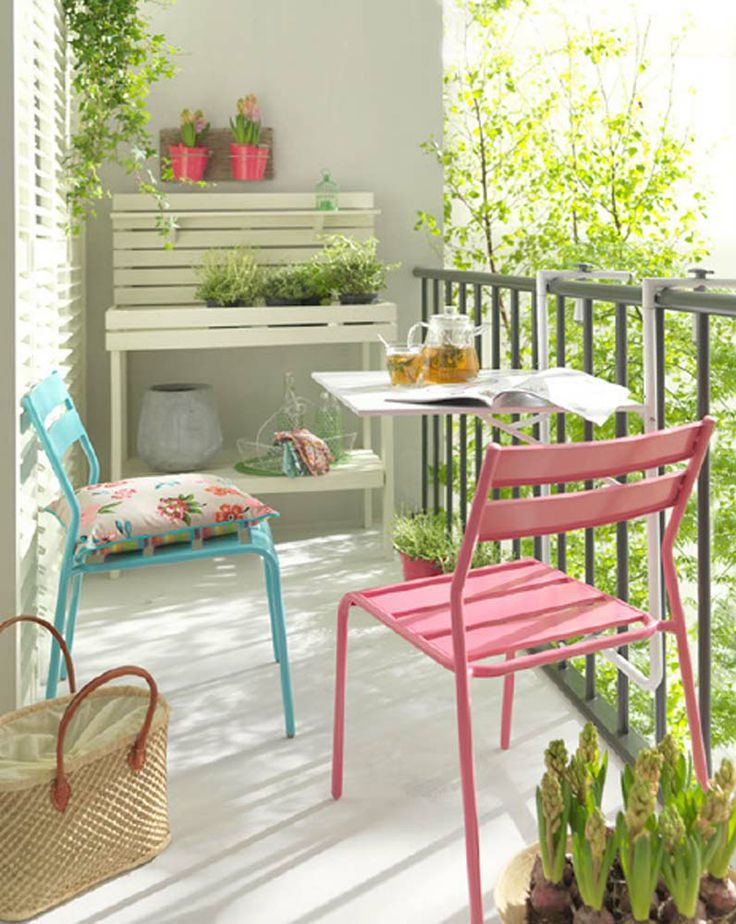 Der Balkon. #KOLORAT #Balkon #Sommer #Garten