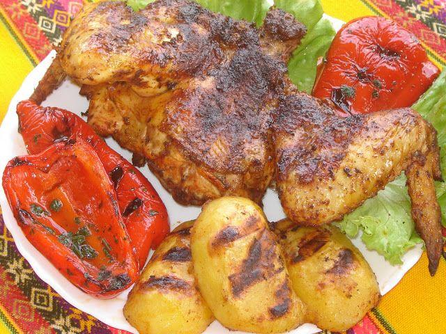 Cucina peruviana in Italia: Parillada de pollo - Pollo alla brace