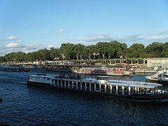 El Río Sena, Puente, París, Francia, Río