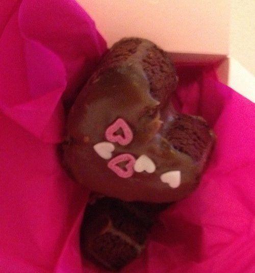 Schokoladenherzen Rezept eingesendet von: Katrine Lihn  #Schokolade #Herz