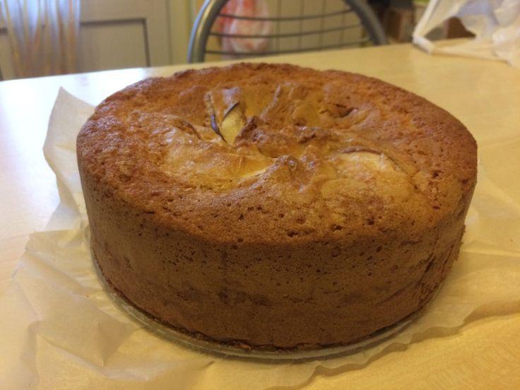 Torta di mele 🍎 e farina di avena