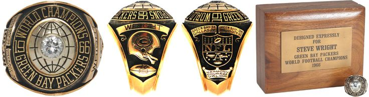 1966 Packers Super Bowl I Ring | Championship Ring | World Series Ring | Sports Ring