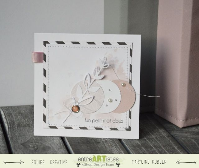 En rose et noir - Le scrap de Mary: http://lescrapdemary.over-blog.fr/2015/04/en-rose-et-noir.html