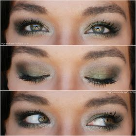 EOTD With Urban Decay's Ammo Palette
