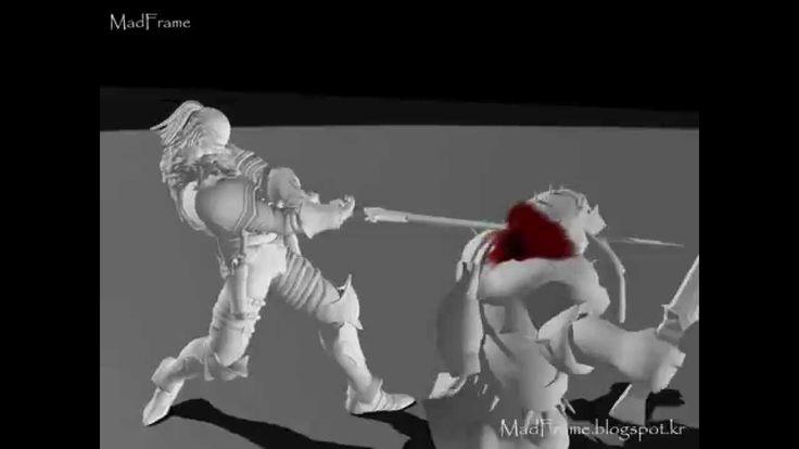 "3D Animator ""Madframe"" Player Character Animation Portfolio"