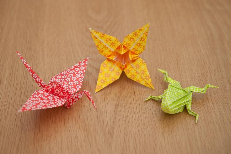 DIY Tutorial: Origami Animals {Part One}