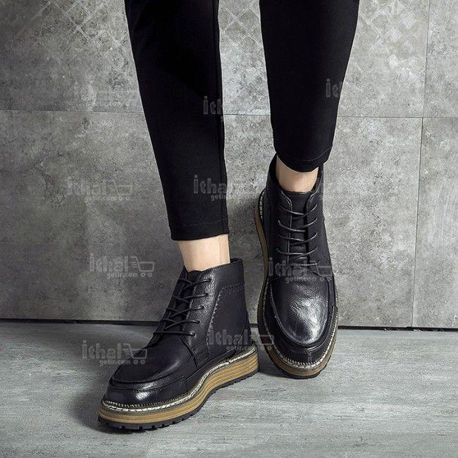 Yüksek Kaliteli Malzemelerden Üretim Moda Erkek Ayakkabı Modelleri - 571582 - 36