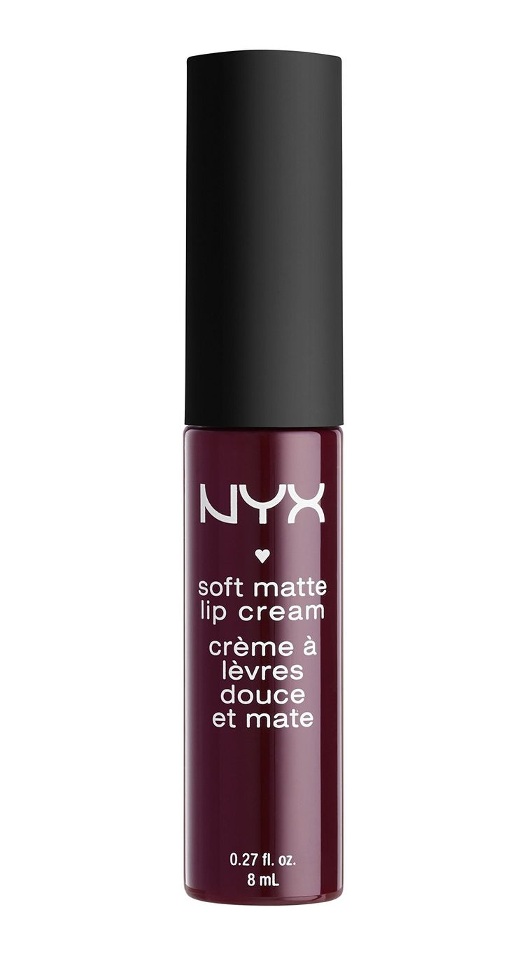 NYX Cosmetics Soft Matte Lip Cream Copenhagen. This matte lip cream is a new kind of lip color that goes on silky smooth and sets to a matte finish. Soft Matte Lip Cream is surprisingly durable and, unlike some matte lipstick formulas, also moisturizing. Delightfully creamy and lightweight, our award winning line just expanded with two captivating new shades. Apply directly to lips, or over lipstick. Apply with lip liner to define outline of lips. 0.27 fl. oz. 8 mL.