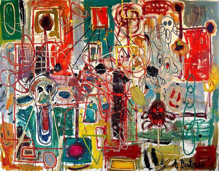André Butzer artista alemán abstracto figurativo