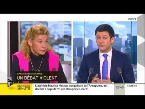 Politique - 14/12/12 I-TELE, Frigide Barjot argumente clairement son opposition au Mariage Gay - http://pouvoirpolitique.com/141212-i-tele-frigide-barjot-argumente-clairement-son-opposition-au-mariage-gay/