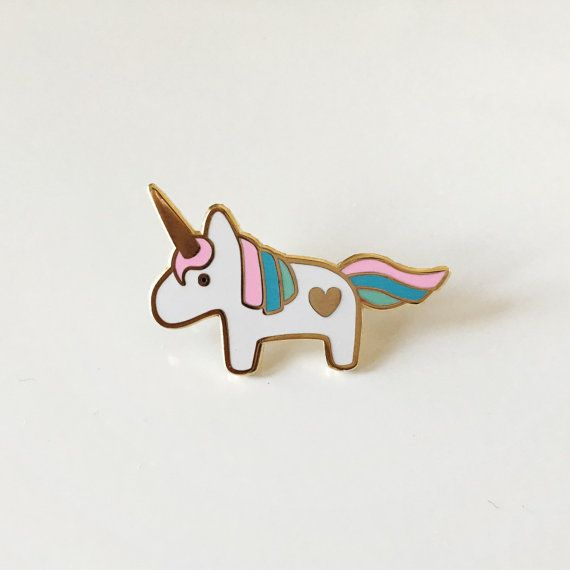 Unicorn lapel pin by DesignandHappiness on Etsy