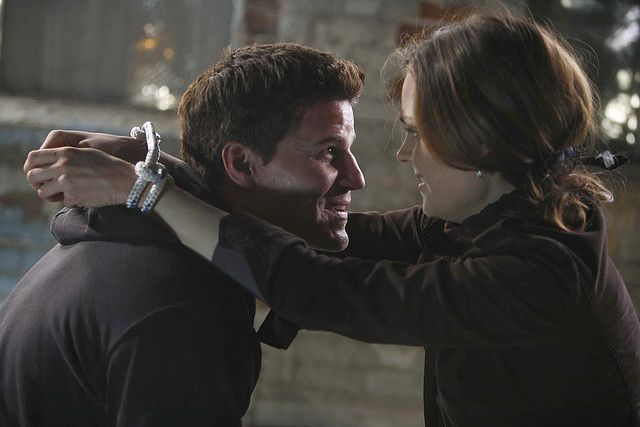When Booth saves Brennan. This is the best episode because you really get to see how they care about each other.