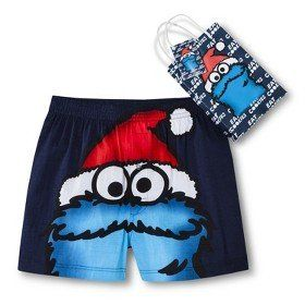 Amazon.com: Cookie Monster Boxer with Free Gift Bag Size Men's Small: Home & Kitchen