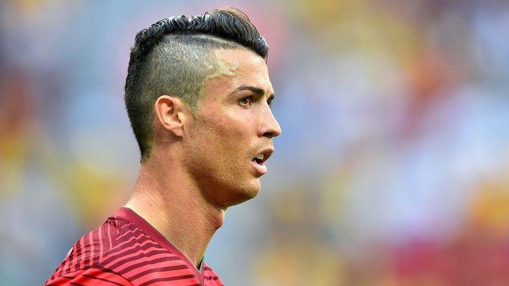Soccer Pinwire Cristiano Ronaldo Frisur Ruckseite 2018 Neue