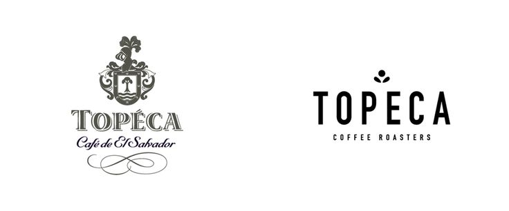 Noted: New Logo and Packaging for Topeca Coffee by Ghost and In-house