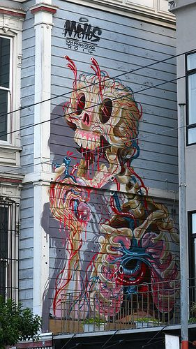 Street art | Mural by NYCHOS