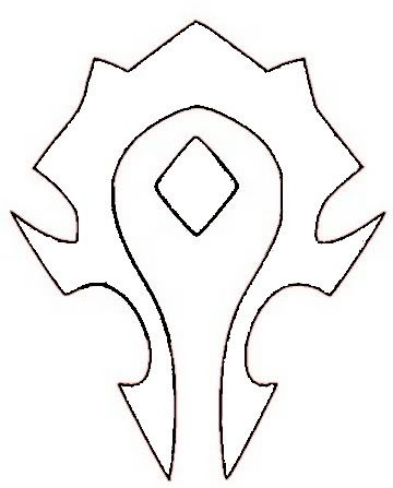 Horde Symbol Template Photo by disposableusername | Photobucket