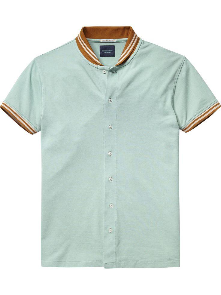 Polohemd im Retro-Stil|Shirts S/S|Herrenbekleidung von Scotch & Soda