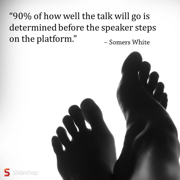 Somers White has made a point that we all should keep in mind. #publicspeaking #speech #presentation