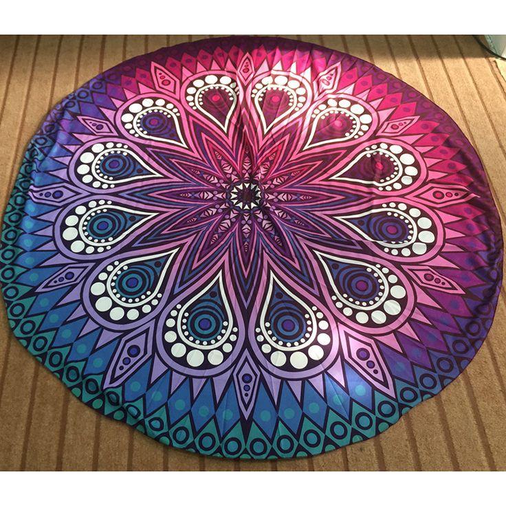 Goedkope 9 Stijl Hot Hippie Ronde Mandala Tapestry Indian Muur Opknoping strand gooi handdoek yoga mat deken tafelkleed laken thuis Decor, koop Kwaliteit   rechtstreeks van Leveranciers van China:  Hello! welkom in onze winkel! kwaliteit is de eerste met beste service. klanten zijn onze vrienden. mode ontwerp, 100%