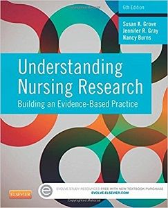 Instnat download and all chapters Test Bank Understanding Nursing Research Building an Evidence-Based Practice 6th Edition Grove  View free sample: Test Bank Understanding Nursing Research Building an Evidence-Based Practice 6th Edition Grove