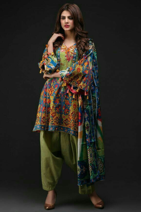Casual is the best | Casual summer dresses, Pakistani ...