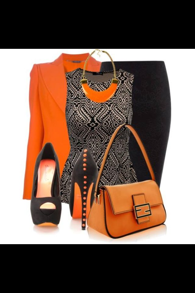 I like it all but would probably replace the shoes plain black medium heel pumps for work