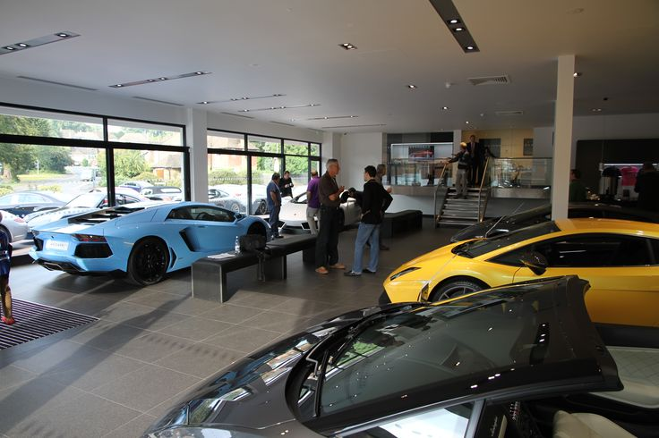 Lamborghini Showroom