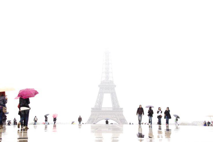 Photo © studio pessinger Paris sous la pluie