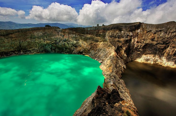 Kelimutu volcanos, Flores Island