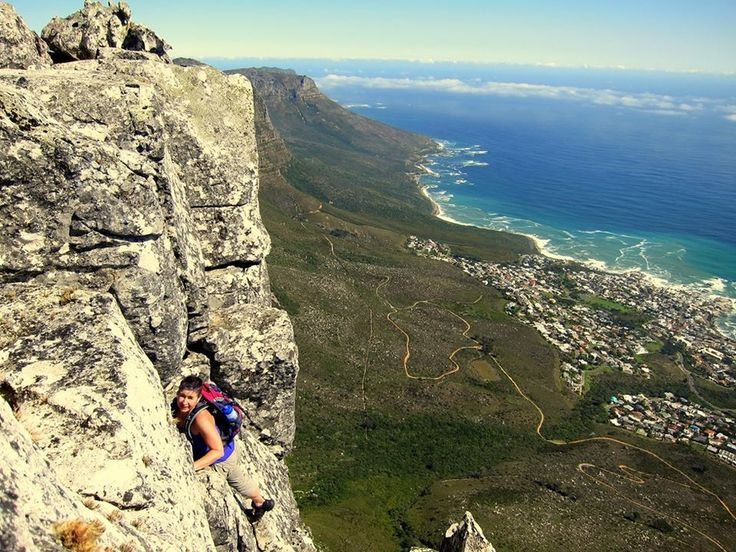 On Kloof Corner - Table Mountain - South Africa - http://www.travelmoodz.com/en/travel-professional/riaan-vorster