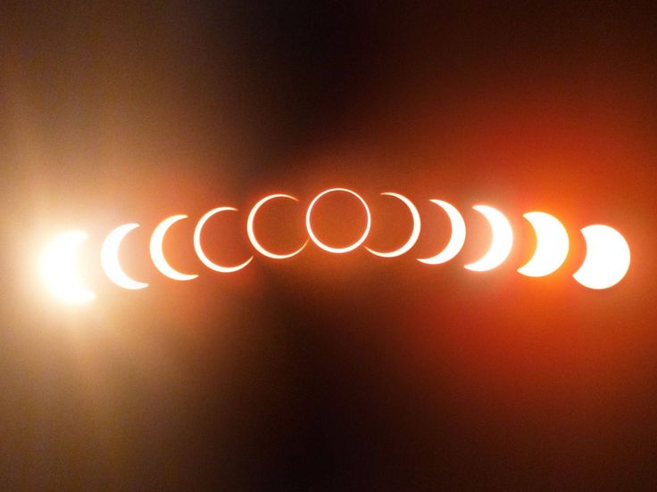 Beautiful composite shot of yesterday's 'ring of fire' eclipse as viewed from Cape York, Australia. May 10, 2013