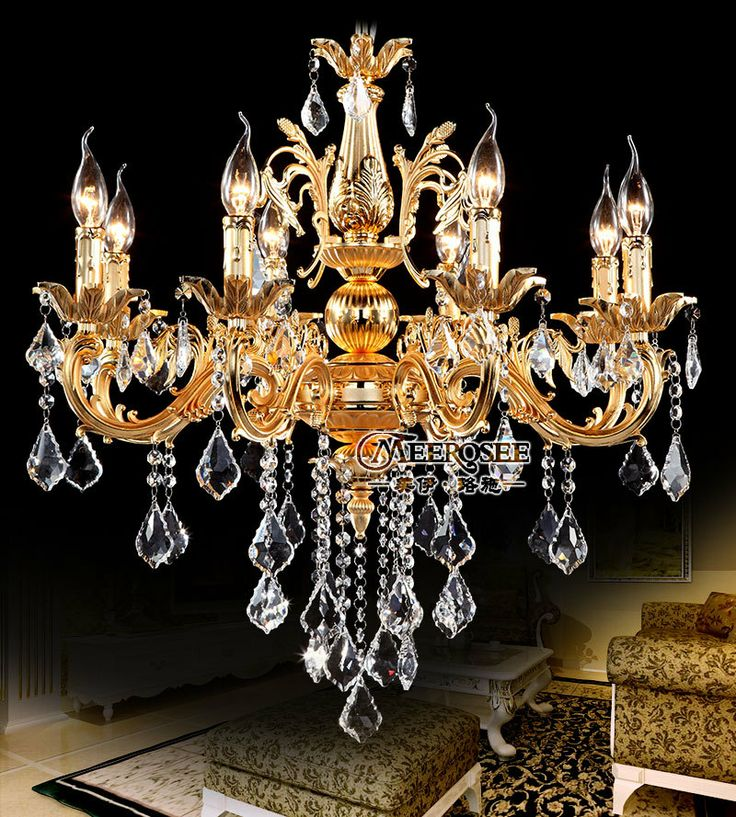 79 best crystal chandelier lamp fixtrues images on pinterest gold color crystal chandelier candle light classic silver chandelier pendant lamp free shipping ready stock 27900 aloadofball Image collections
