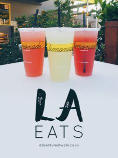 When in LA, there are so many restaurants to choose that it's almost overwhelming. Lucky for you, I've tested out the best places to eat in Los Angeles, so here are my top LA eats! // Adventure at Work