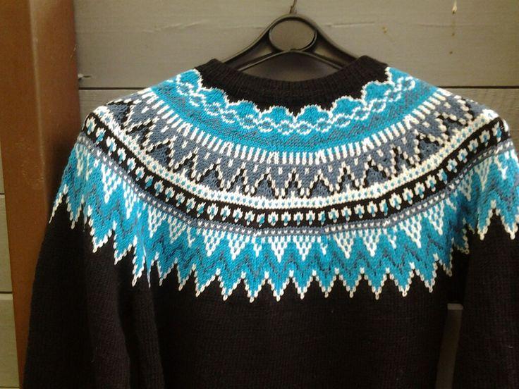 Vår genser fra Viking garn