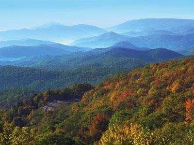 Blowing Rock, NC - according to Diana Gabaldon, Fraser's Ridge is supposedly located within in 10 miles of this location...