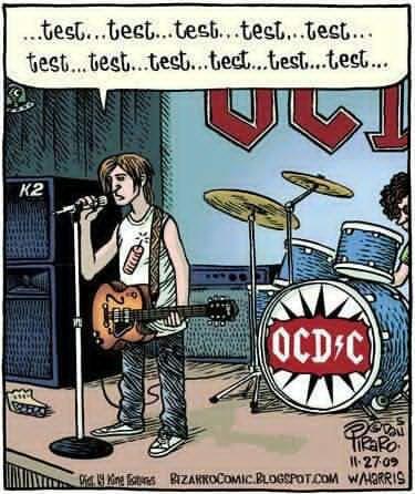 OCD/CLaugh, Ocdc, Funny Pictures, Mental Health, Rocks Stars, Ocd C, Funny Stuff, Funnystuff, Funny Memes