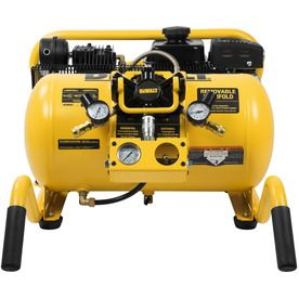 Dewalt 10-Gallon 155-Psi Horizontal Portable Gas Air Compressor Dxcmwa