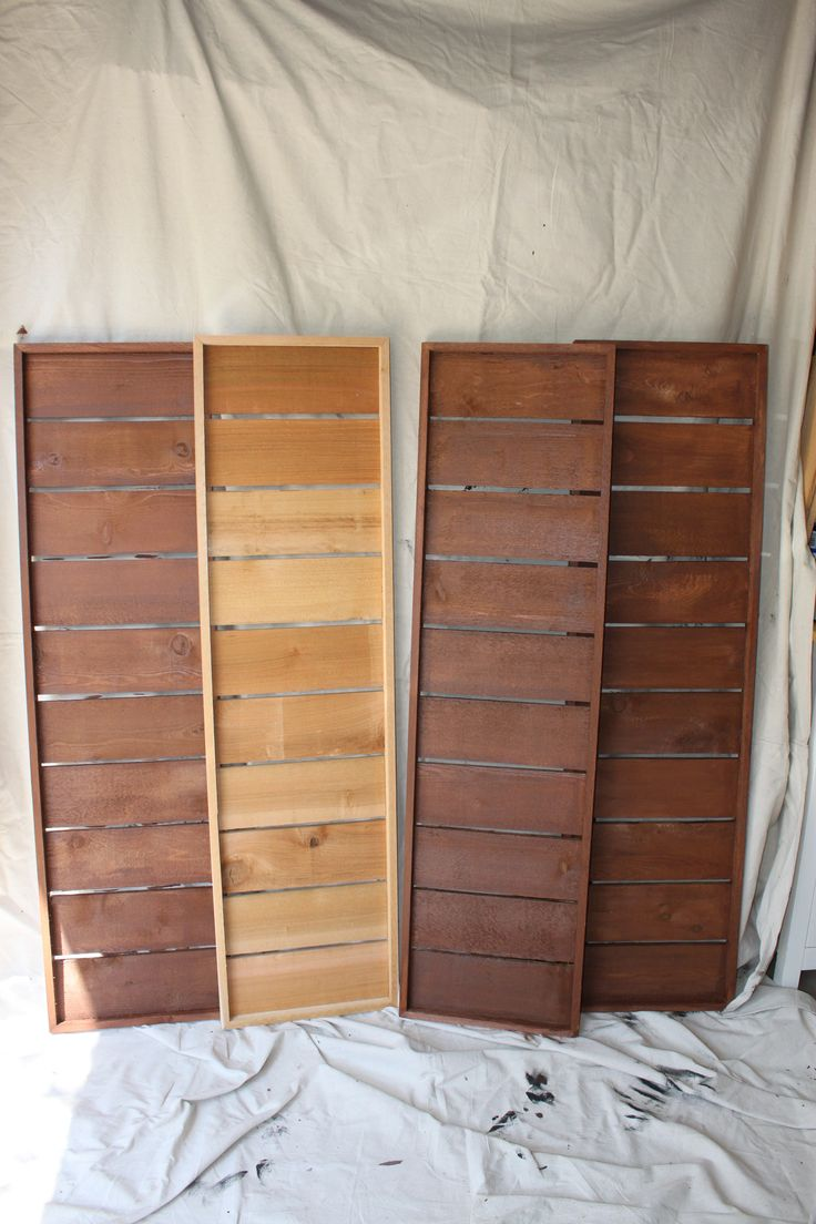 Best 25+ DIY exterior cedar shutters ideas on Pinterest | DIY ...
