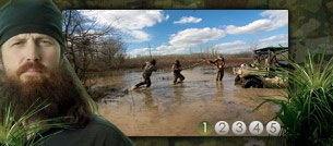 Take the Duck Dynasty Video Quiz Game