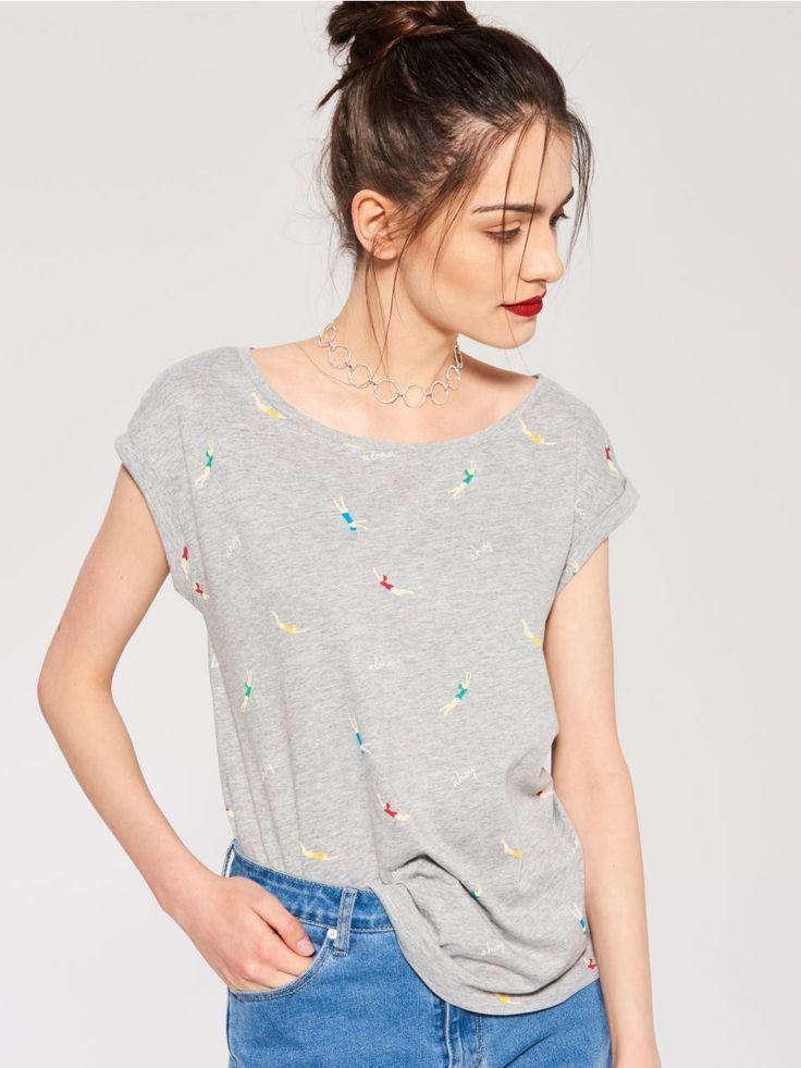 L2017 T-shirt z nadrukiem