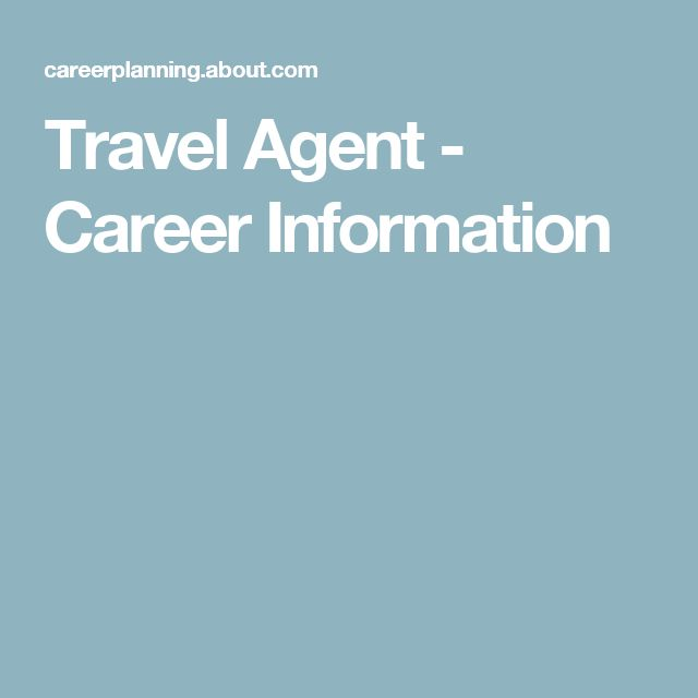 travel agent career project Discover what it takes to be a travel agency manager  by working as a travel agency manager travel agency managers  travel and tourism people 1st career.