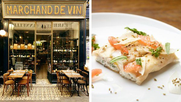 An Old Paris Arcade, for Innovative New French Food - NYTimes.com