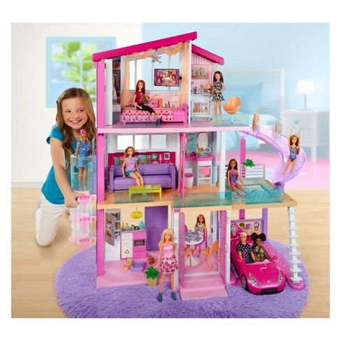Outstanding Barbie Dreamhouse Playset Kayleighs Wish List Barbie Download Free Architecture Designs Rallybritishbridgeorg