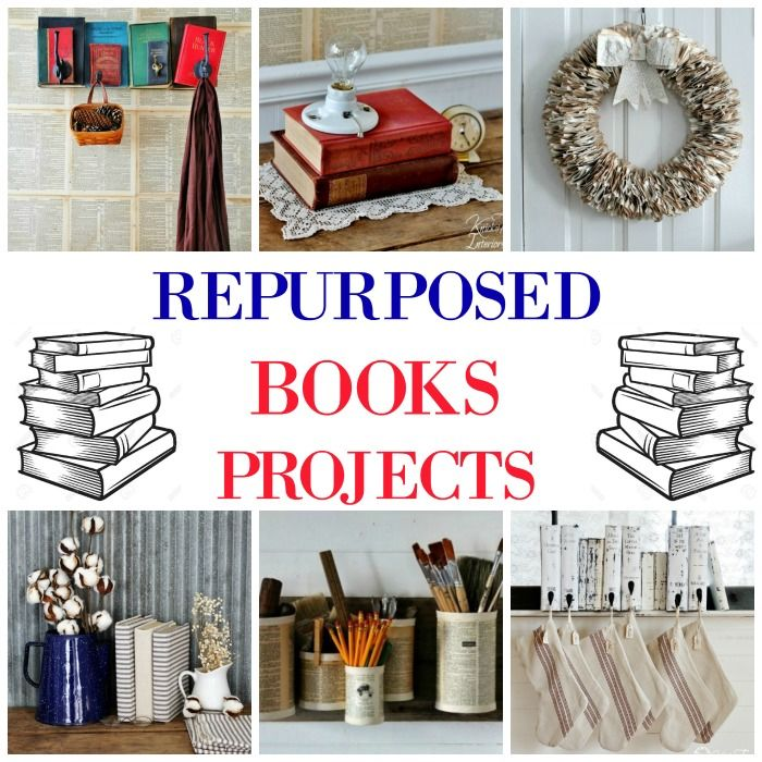 Repurposed Book Projects To Give New Life To Old Books Old Book